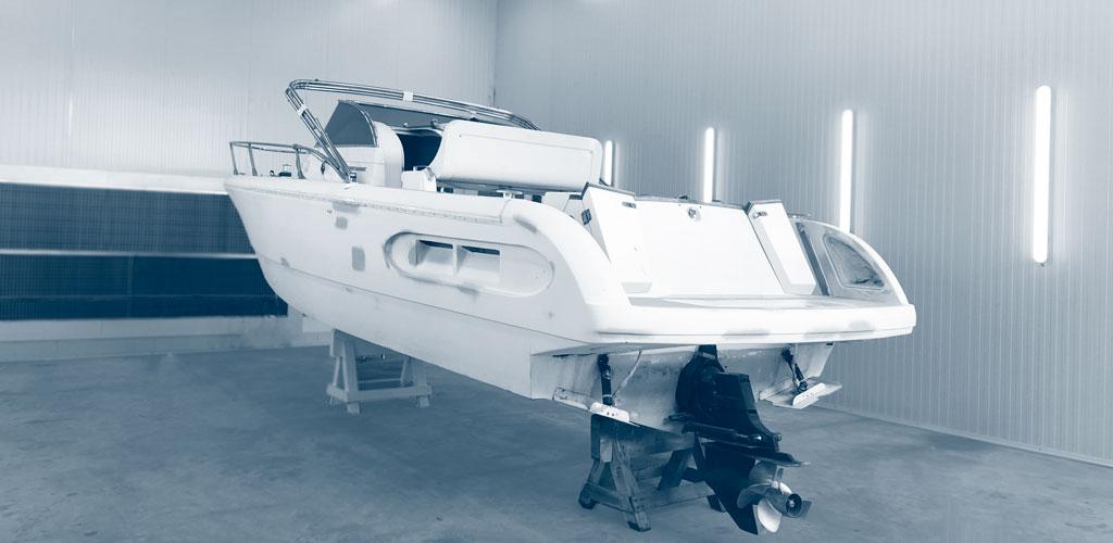 Barcos taller de pintura Costabrava