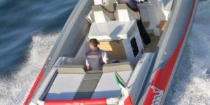 Barco ocasion neumatica MV Marine